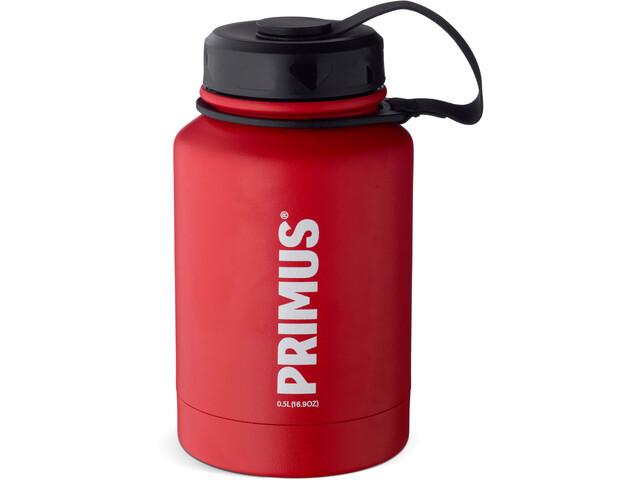 Primus TrailBottle Vacuum Water Bottle Stainless Steel 500ml, red